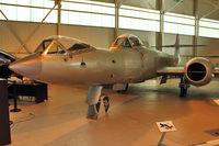 WK935 @ EGWC - Gloster Meteor F.8(Mod) - Prone position
