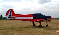 RA-44538 @ EGLM - Yakovlev Yak-18T [22202052122] White Waltham~G 27/08/2003
