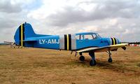 LY-AMJ @ EGLM - Yakovlev Yak-18T [22202047812] White Waltham~G 27/08/2003