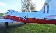 XW418 @ EGWC - 1972 Hunting Jet Provost T.5A, c/n: EEP/JP/1040