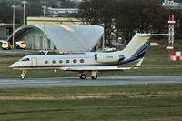 N77FK @ EGLF - 1998 Gulfstream Aerospace G-IV, c/n: 1357