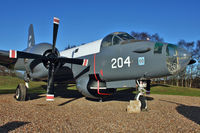 204 @ EGWC - Lockheed SP-2H Neptune, c/n: 726-7251