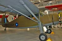 G-AIZE @ EGWC - G-AIZE (FS628), Fairchild 24W-41A Argus II, c/n: 565 - by Terry Fletcher