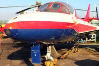 WV383 @ EGLF - Hawker Hunter T.7, c/n: 41H-670829 at FAST