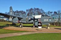204 @ EGWC - Dutch Lockheed SP-2H Neptune, c/n: 726-7251