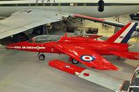 XR977 @ EGWC - Hawker Siddeley Gnat T.1, c/n: FL574