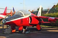 XP516 @ EGLF - 1963 Hawker Siddeley Gnat T.1, c/n: FL531