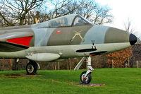 XG225 @ EGWC - Hawker Hunter F.6A, c/n: 41H-680037