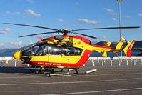 F-ZBQB @ LFKC - Parked at l'Ile Rousse Port