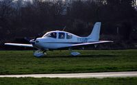 N147CD @ EGLD - Booker [EGTB] based Cirrus. - by Clive Glaister