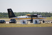 79-23255 @ KHST - De Havilland UV-18A Twin Otter (79-23255) of the US Army Golden Knights sits on the ramp at Wings over Homestead - by Jim Donten