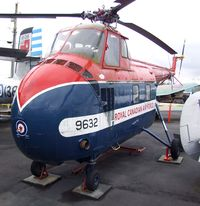 N2300Z - Sikorsky S-55 (painted to represent '9632' of the RCAF) at the Canadian Museum of Flight, Langley BC