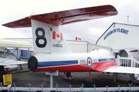114003 - Canadair CT-114 Tutor at the Canadian Museum of Flight, Langley BC - by Ingo Warnecke