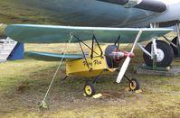 CF-RFH - Mignet (J. Sayle) HM.290 Pou-du-Ciel / Flying Flea at the Canadian Museum of Flight, Langley BC