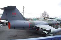104645 - Lockheed CF-104D Starfighter at the Canadian Museum of Flight, Langley BC