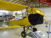 C-GMFT @ CYNJ - DeHavilland (Canada) D.H.82C Tiger Moth at the Canadian Museum of Flight, Langley BC
