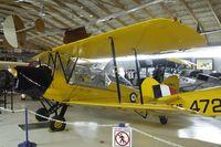 C-GMFT @ CYNJ - DeHavilland (Canada) D.H.82C Tiger Moth at the Canadian Museum of Flight, Langley BC