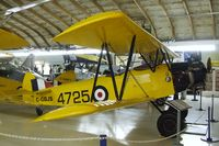 C-GBJS @ CYNJ - Fleet 16B Finch Mk II at the Canadian Museum of Flight, Langley BC