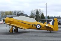 CF-GME @ CYNJ - North American (Noorduyn) AT-16 Harvard IIB at the Canadian Museum of Flight, Langley BC