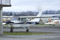 C-GJRZ @ CYNJ - Cessna 210B at Langley Regional Airport, Langley BC - by Ingo Warnecke