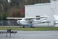 CF-YHF @ CYNJ - Cessna 172K Skyhawk at Langley Regional Airport, Langley BC - by Ingo Warnecke