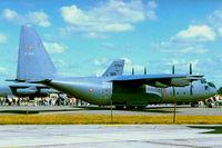 B-680 @ EGVA - Lockheed C-130H Hercules [4599] (Royal Norwegian AF) RAF Fairford~G 22/07/1995 - by Ray Barber
