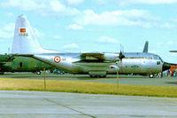 13186 @ EGVA - Lockheed C-130E Hercules [4011] (Turkish AF) RAF Fairford~G 22/07/1995 - by Ray Barber