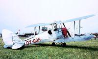 OY-DGH @ EKVJ - De Havilland DH.82A Tiger Moth [85939] Stauning~OY 05/06/1982. Image taken from a slide.