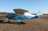 N1274C @ KOVS - Piper PA-22-135
