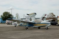 N1066L @ BOW - 1975 Lake LA-4-200, N1066L, at Bartow Municipal Airport, Bartow, FL  - by scotch-canadian