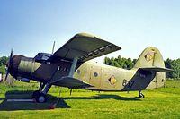 D-FNVA @ EDAN - Antonov An-2 [19347320] Neustadt-Glewe~D 18/05/1998. Seen here still wearing its former East German military markings of 817.