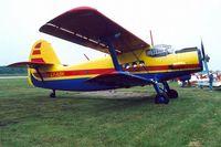 LY-ABK @ EKVJ - Antonov An-2TP [1G238-11] Stauning~OY 10/06/2000 - by Ray Barber