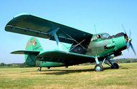 D-FBAW @ EBDT - Antonov An-2T [1G160-01] Schaffen-Diest~OO 17/08/2002