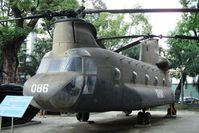 66-0086 @ SGN - Heavy lift helicopter ex US Army 1st Air Cavalry Division displayed @ War Remnants Museum in HCMC / Viet Nam  - by Jean M Braun