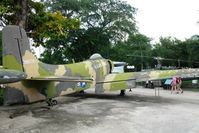 139674 @ SGN - One of six aircrafts displayed @ War Remnants Museum in HCMC / Viet Nam  - by Jean M Braun