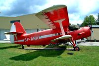 SP-ANA @ EPZP - Antonov An-2TP [1G29-21] Przylep-Zeilona Gora~SP 16/05/2004