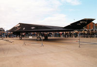 85-0819 @ MHZ - Another view of the F-117A Nighthawk, callsign Trend 71, of 7th Fighter Squadron/49th Fighter Wing at Holloman AFB on display at the 1997 RAF Mildenhall Air Fete. - by Peter Nicholson
