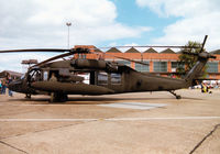 96-26692 @ MHZ - UH-60L Black Hawk of the US Army's 158th Aviation Regiment on display at the 1997 RAF Mildenhall Air Fete. - by Peter Nicholson