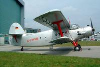 D-FWJM @ EDNY - Antonov An-2T [1G166-38] Friedrichshafen~D 21/04/2005