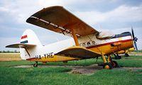 HA-YHE @ LHBS - Antonov An-2PF [1G187-37] (Air Service Hungary) Buadors~HA 15/06/1996