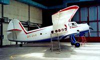 OM-248 @ LZIB - Antonov An-2TP [1G233-43] (Air Slovakia) Bratislava~OM 21/06/1996