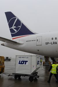SP-LRA @ LOWW - LOT Boeing 787-8 - first visit at Vienna
