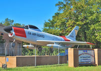 52-3651 @ KMCN - At the Gate of the Georgia Air National Guard at Macon Airport. - by Wilfried_Broemmelmeyer