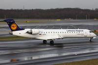 D-ACPO @ EDDL - Lufthansa, CityLine, Canadair CL-600-2C10 Regional Jet CRJ-701ER, CN: 10085, Aircraft Name: Spaichingen - by Air-Micha