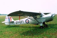 OY-EFI @ EKVJ - Auster 5M [1815] Stauning~OY 10/06/2000