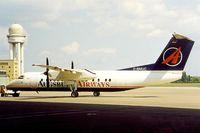 D-BMUC @ EDDI - DHC-8-314A Dash 8 [350] (Augsburg Airways) Berlin-Tempelhof~D 18/05/1998