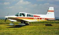 OO-LAK @ LFSG - Grumman American AA-5B Tiger [AA5B-0099] Epinal-Mirecourt~F 25/07/1998