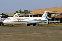 PK-TRU @ WIHH - BAC 1-11 475EZ One-Eleven [262] (Indonesia Air Transport) Jakarta-Halim~PK 25/10/2006