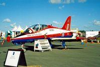 XX341 @ EGVA - BAe Systems Hawk T.1 Astra [312165] (RAF) RAF Fairford~G 22/07/1995 - by Ray Barber