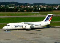 EI-DEX @ LSZH - British Aerospace BAe 146-300 [E3157] (Cityjet) Zurich~HB 22/07/2004
